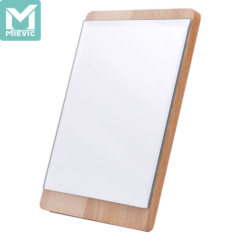 RZ Nordic solid wood vertical mirror 688332 MIEVIC/米薇可
